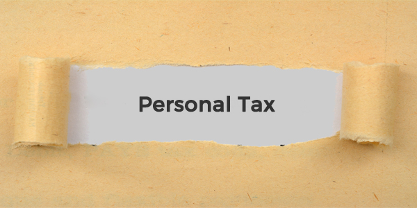 Page info - Personal tax copy